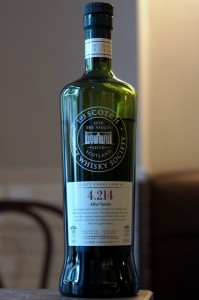 SMWS 4-214 Scotch Malt Whisky Society Highland Park 1995 19y
