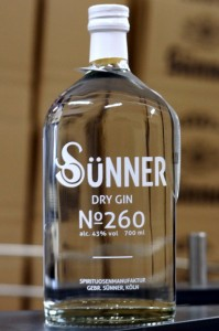 Sünner Dry Gin No 260
