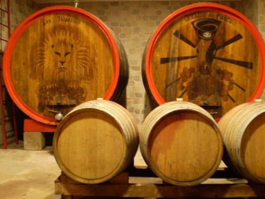 Beczka i wino
