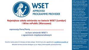 voucher WSET 1-1